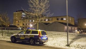 Bråk och skottlossning på Koppargården