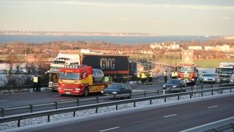 Trafikolycka vid Glumslövs backar
