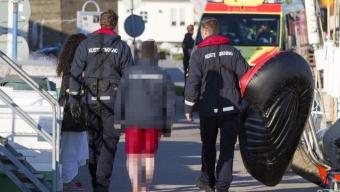 Pojke räddades av kustbevakningen