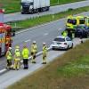 E6: Trafikolycka vid Landskrona Södra