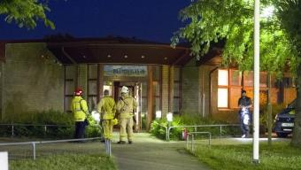 Brand i barnvagn vid Pilängskolan