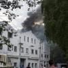 Brand i tryckeri i Gantofta