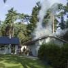 Garagebrand i Saxtorpsskogen