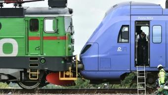 Tågkollision utanför Åstorp