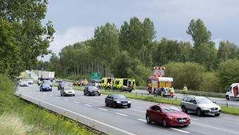 E6: En till sjukhus efter trafikolycka