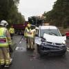 Trafikolycka på v110 vid Saxtorpssjöarna