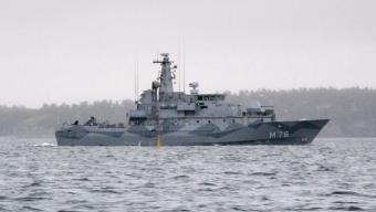 HMS Ven besöker Ven