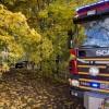 En till sjukhus efter köksbrand i Kågeröd