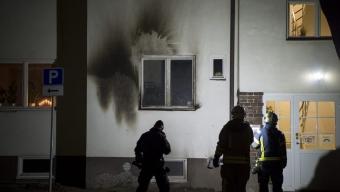 Landskrona Stad agerar efter branden