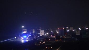 Flera trafikolyckor på E6:an