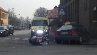 Mc-olycka vid Sofia Albertina
