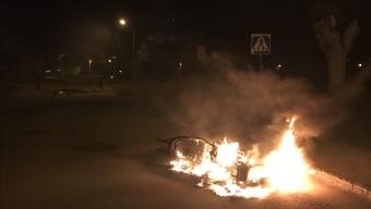 Mopedbrand på Pilgården