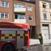 Lägenhetsbrand visade sig vara falsklarm