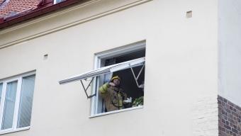 Larm om lägenhetsbrand var torrkokning