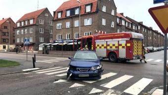 Trafikolycka på Artillerigatan