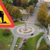Omfattande beläggningsarbete i Landskrona
