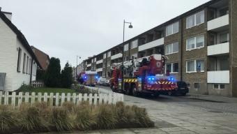 Misstänkt villabrand på Östergatan