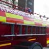 Brand på Västergård utanför Tågarp