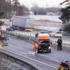 E6: Flera bilar i krock vid Lundåkra