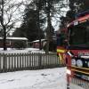 Brand i villa i Saxtorpsskogen