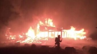 Brand på Kågerödslund