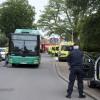 Bussolycka på Stora Norregatan