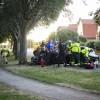 Misstänkt rattfull kraschade in i träd