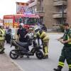 Kollision mellan moped och bil