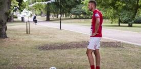 Footgolf: Ola Nilsson leder efter första rundan