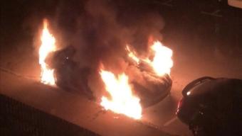 Bilbrand på Pilgården