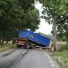 Lastbilsolycka vid Knutstorp