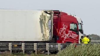 E6: Lastbilsolycka vid Råådalen