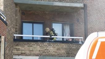 Lägenhetsbrand på Hantverkargatan