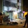 Mopedbrand spred sig till flerfamiljshus