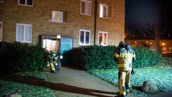 Vält ljusstake orsakade brand