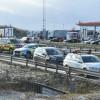 E6: Tre bilar i krock vid milstolpen
