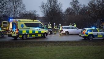 Trafikolycka på väg 111 i Helsingborg