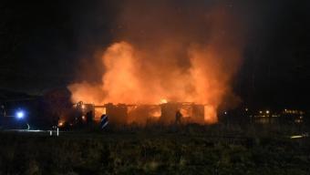 Brand i Billesholm