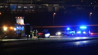 E6: Trafikolycka på avfarten Landskrona Södra