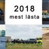 Topp 5 inläggen under 2018 på hemsidan och Facebook