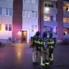 Larm om lägenhetsbrand var falsklarm
