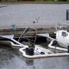 Båt sjönk i Kassakroken