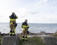 Brandvärnet på Ven sökte efter seglare