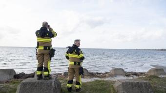 Kropp hittades i vattnet