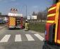 Brand i gallersläp på Ringvägen