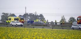 E6: Trafikolycka vid Milstolpen
