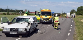 Trafikolycka på Tullstorpsvägen