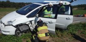 Trafikolycka på Barsebäcksvägen
