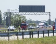 E6: Trafikolycka i höjd med Saxån