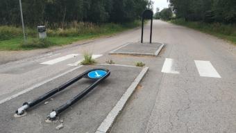 Trafikolycka i Häljarp